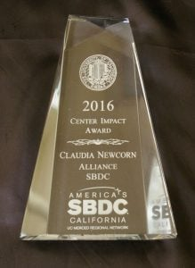 SBDC Impact Award for Consulting Excellence